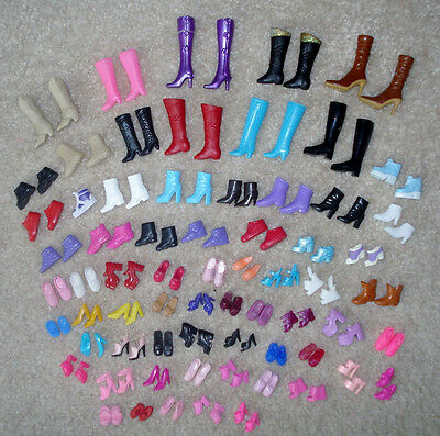 Exquisite 12 pairs creative combination  SHOES new ratio doll shoes JH