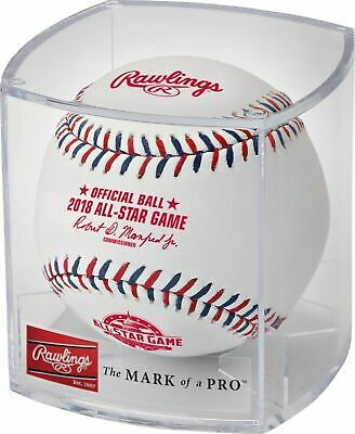 Rawlings 2018 All Star Game MLB Official Game Baseball Cubed Nationals