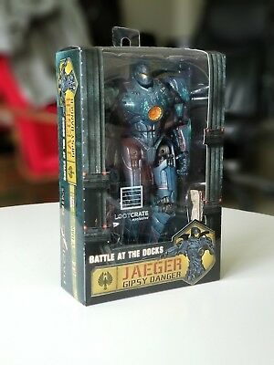 Pacific Rim Jaeger Gipsy Danger 6 Action Figure LootCrate Exclusive - New