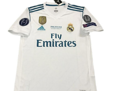 Limited Edition Real Madrid Champions League Final 1718 Home Jersey