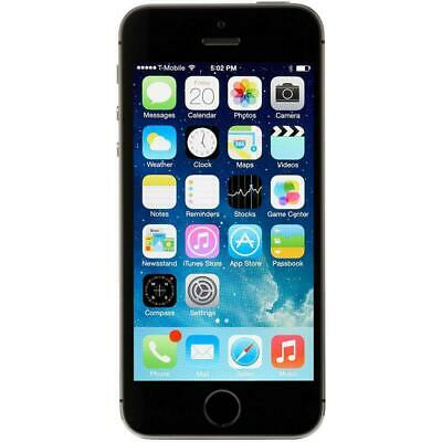 Apple iPhone 5S - Unlocked - 16GB - Silver - Smartphone