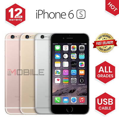Apple iPhone 6S 16GB64GB128GB Unlocked Sim Free Smartphone - ALL COLOURS