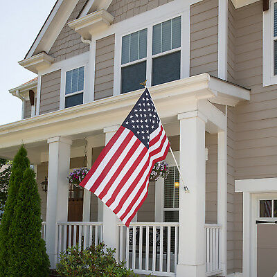 INDEPENDENCE AMERICAN FLAG 5 x 3 Steel Pole Fourth Of July Patriotic Porch Decor