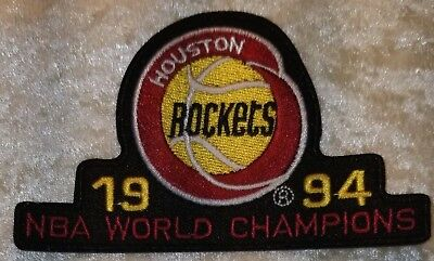 Houston Rockets 1994 Champions 4 Iron On Embroidered PatchUSAFREE Ship