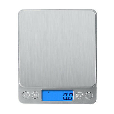 Digital Scale 3000g x 0-1g Jewelry Gold Silver Coin Gram Pocket Size Herb Grain
