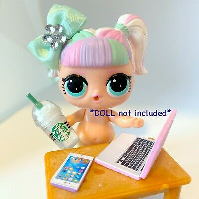 4 PC LOL Accessories Surprise Doll Frappuccino Clothes Lot DOLL NOT INCLUDED