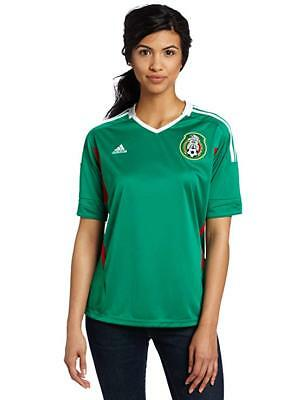 Womens Adidas Mexico Home Soccer Jersey Performance World Cup Vintage New