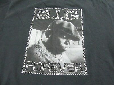 B-I-G- Forever   T Shirt Brooklyn Mint Biggie Smalls  Size L
