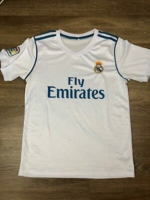 Real Madrid Soccer Jersey Size Small Mens a83