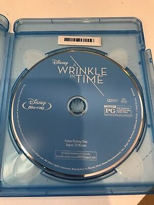 A Wrinkle in Time Blu-ray Only No 4K or Digital