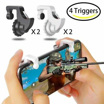 Fortnite PUBG Mobile Controller Sumyee Mobile Game Controller 4 Triggers