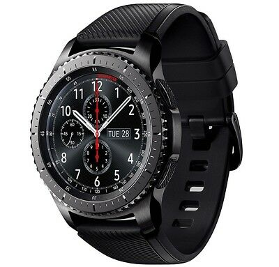 Samsung Galaxy Gear S3 Frontier SM-R765V Verizon LTE Smart Watch 46mm Black
