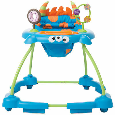 Cosco Simple Steps Interactive Baby Walker Silly Sweet Tooth Monster