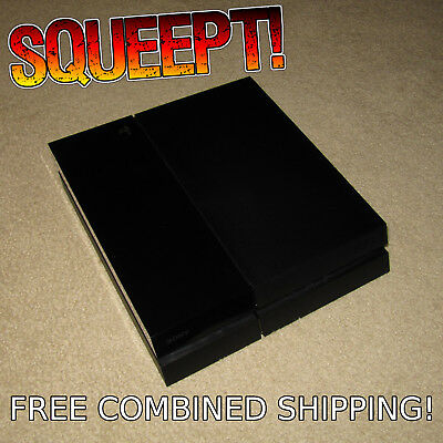 Sony Playstation 4 PS4 500GB System Replacement CONSOLE ONLY Jet Black CUH-1001A