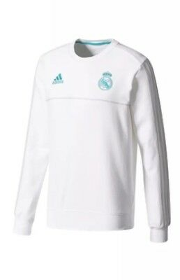 Real Madrid Adidas Training Sweat Top Medium Retail 55 NWT