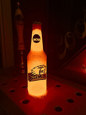 NCAA Oregon State Beavers Football 12oz Beer Bottle Light LED March Madness