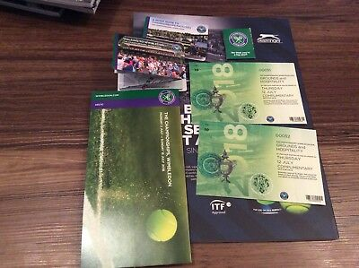 Wimbledon 2018 The Championship Official Guide And Tickets