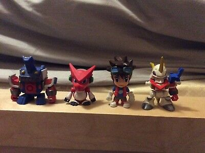 Rare Digimon mini figures-Chibi Mikey Fusion Shoutmon Shoutmon - Ballistamon