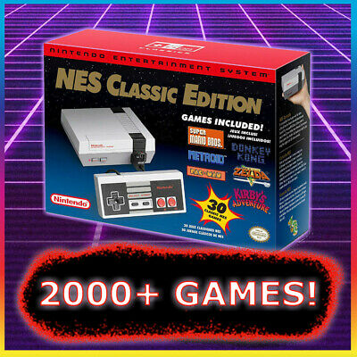 NES CLASSIC MODDED with 805- Games 🔥🔥 Nintendo Classic Edition Console NEW