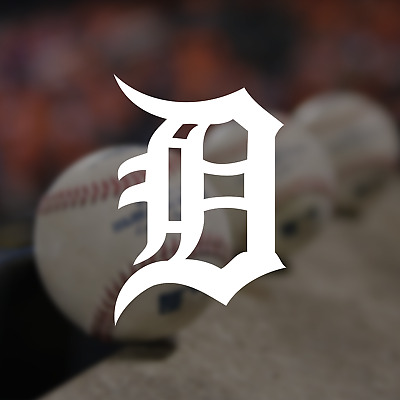 Detroit Tigers Logo MLB Vinyl Decal Sticker