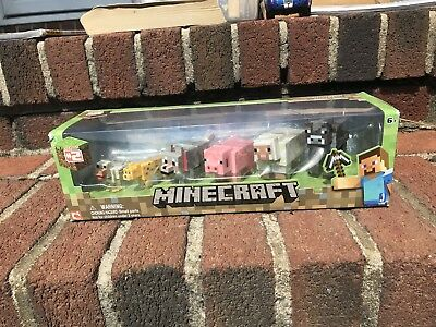 Minecraft Overworld Articulated Animal Mobs 6 pcs Action Figures Series 2