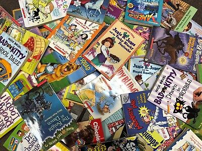 BOY Lot of 15 chapter books RANDOM Childrens Youth Early Readers Home school