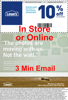 1 Lowes 10 Off Discount Coupon - Expires 930