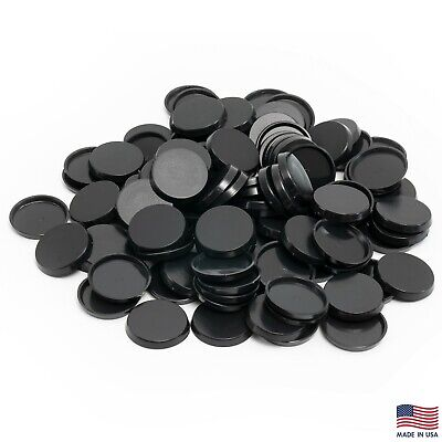 Pack of 100 32 mm Plastic Round Bases Miniature Wargames Table Top gaming