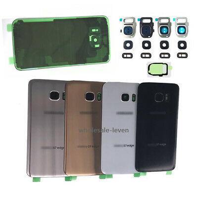 OEM For Samsung Galaxy S7  S7 Edge Back Glass Cover IP68   Camera Lens  Tape