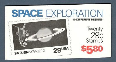 2568-2577 BK192 Space Exploration Booklet Mintnh Selling  Face