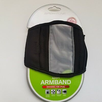 New Sportsline Brand Sport Armband for Ipod Music Player  Many Cell Phones