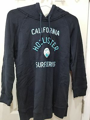 NWT HOLLISTER CO WOMEN COUNTY LINE HOODIE COLOR DARK BLUE AND SMALL