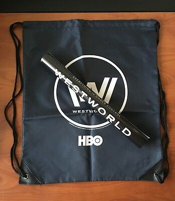 SDCC 2017 Exclusive Hall H Swag - HBO Westworld Panel Sling Bag - Poster New
