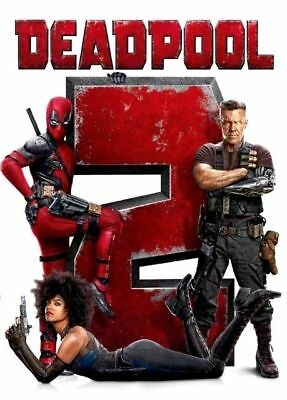Deadpool 2 DVD2018 NEW  Action Comedy SFiction FREE Same Day SHIPPING
