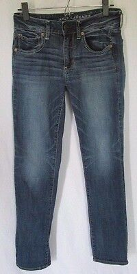 American Eagle Outfitters Straight Super Stretch Jeans Womens size 27 X 30