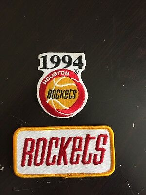 1994 Houston Rockets Patches 2