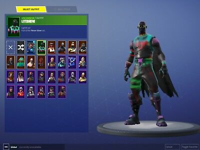 Fortnite Account with Skins