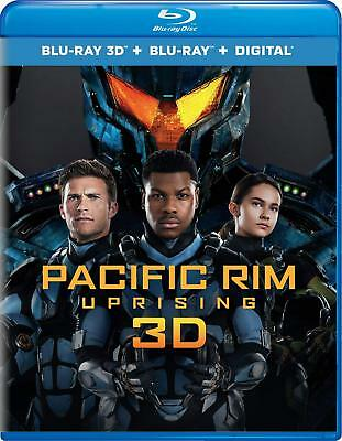 Pacific Rim Uprising 3D used Blu-ray Only Disc Please Read