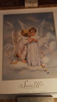 Sandra Kuck print ANGELS KISSES WISHES AND DREAMS HAND SIGNED BY ARTIST 1999