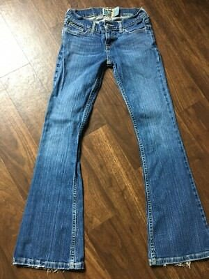 Vintage Hollister Co HCO Bootcut Jeans 0short 0S 0 HTF