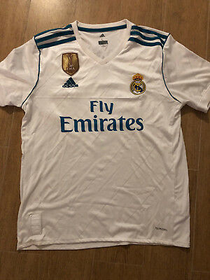 Sergio Ramos Real Madrid Home Jersey Champions League Edition 1718 White