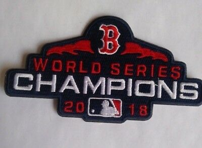 2018 BOSTON RED SOX World Series Champions Patch  NEW  Good Gift