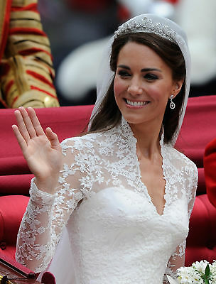 Kate Middleton Greeting The Day Of Your Wedding 8x10 Photo Print