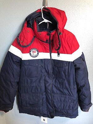 2018 Winter Paralympic Polo Ralph Lauren Team USA Opening Ceremony Heated Jacket