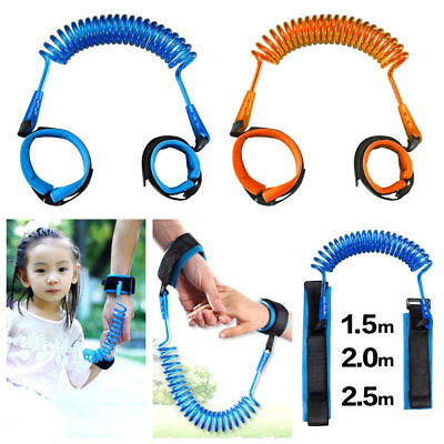 Children Kids Safety Harness Leash Anti Lost Toddler Wrist Link Wristband Ropes
