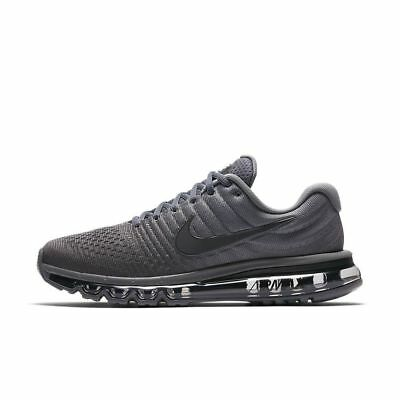 Nike Air Max 2017 Running Shoes Cool Gray Anthracite 849559-008 Mens NEW