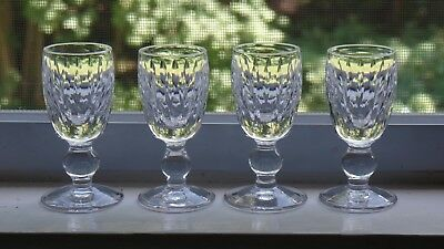 Waterford Crystal 3-25 Maureen Cordial Glasses - Set of 4