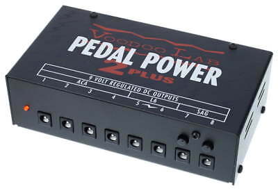 Voodoo Lab Pedal Power 2 Plus Guitar Pedal Power Supply NEW
