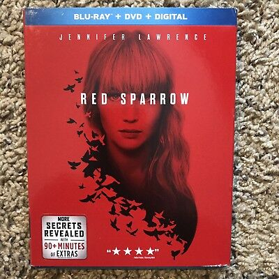 Red Sparrow Blu Ray And DVD Jennifer Lawrence