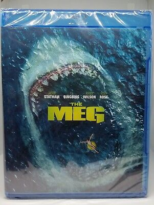 The Meg Blu-ray - DVD - Digital 2018 NEW